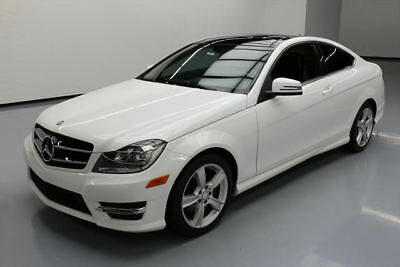 2014 Mercedes-Benz C-Class Base Coupe 2-Door 2014 MERCEDES-BENZ C250 COUPE PANO SUNROOF NAV 25K MI #202385 Texas Direct Auto