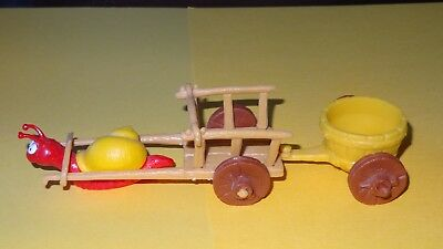 Smurfs Snail Cart for Smurf figures / Classic Display Playset Vintage Rare