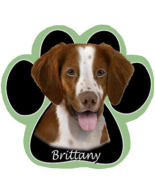 BRITTANY Dog Paw Shaped Computer MOUSE PAD Mousepad