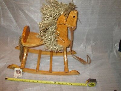Rare Boyds Bears Accessory Giddy-Up Rocking Horse (Lot M)