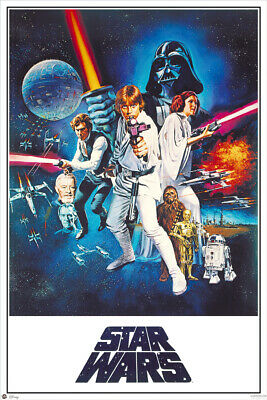 "STAR WARS: EPISODE IV - A NEW HOPE - MOVIE POSTER (STYLE C) (SIZE: 24"" x 36"")"