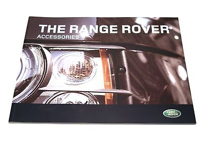 Genuine Range Rover Accessorie Brochure(LRML252908)