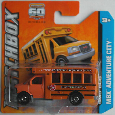 Matchbox - GMC School Bus orange Neu/OVP