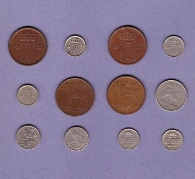 Norway - Coin Collection - Lot # B - World/Foreign/Europe