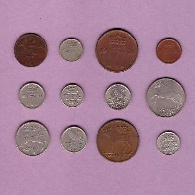 Norway - Coin Collection Lot #A - World/Foreign/Europe