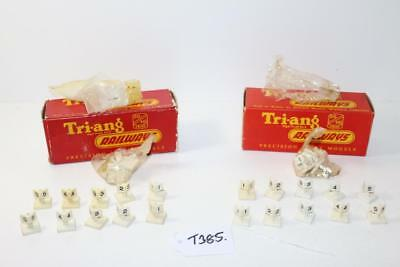 7 x Triang OO 1:76 R.172 Sets of 5 Mileposts FNQHobbys T385
