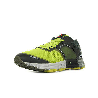 Chaussures Reebok homme One Cushion 30 Running taille Jaune Textile Lacets
