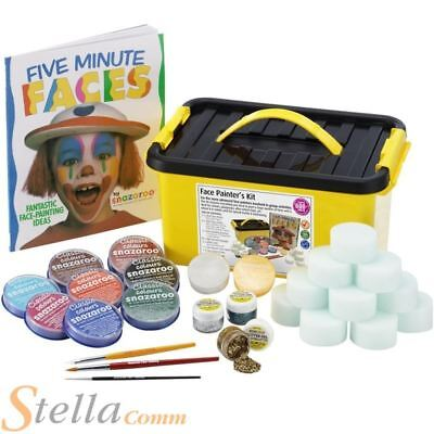 Snazaroo Face Painting Kit Professional Make Up Set For 600+ Faces