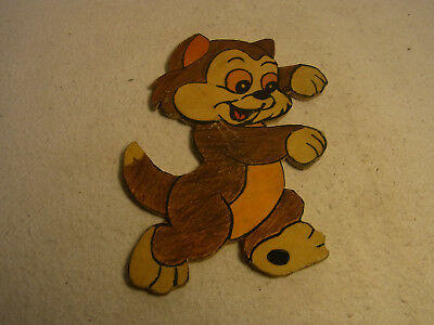 Vintage German Wood Fretwork Cat #T6