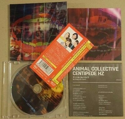 ◆Fs◆Animal Collective「Centipede Hz+2」Japan Rare Sample Cd Ex◆Hse-10126