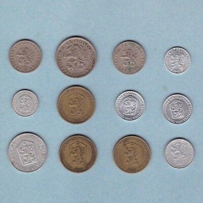 Czechoslovakia - Coin Collection - Lot # B - World/Foreign/Europe