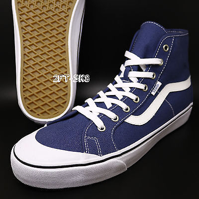 bfc28353da Vans Black Ball Hi Sf Ensign Blue Men s Skate Shoes era Chima   s74133