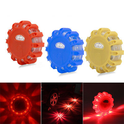 LED Road Flares Flashing Warning Light Roadside Safety Car Boat Truck New