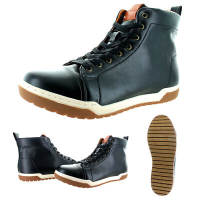 7ae49607012bf TOMMY HILFIGER MEN S Leather Boots Herbie Brown New With Box ...