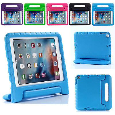 "AU Kids Safe Handle Shockproof Case for iPad 6th 5th 2018/2017 9.7"" / Air Cover"