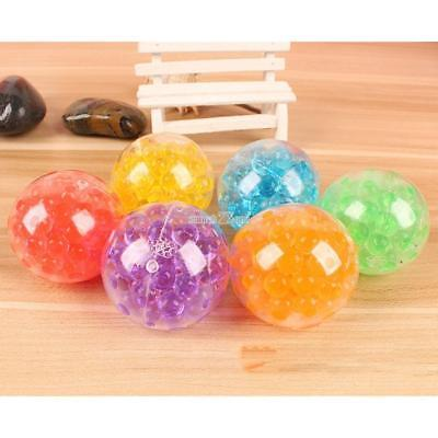 Squishy Bead Stress Ball Sensory Squeeze Toy Anxiety Relief Calming A+++