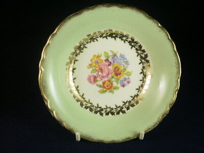 Wilkinson Green & Gold Small Floral Bowl