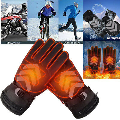 Winter Rechargeable Keep Warm Electric Heated Thermo Gloves Outdoor Hand Warmer