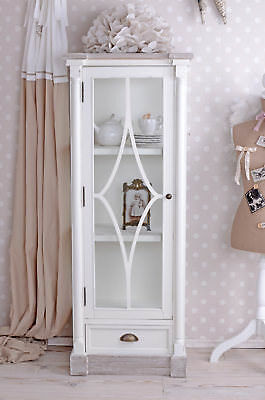 Showcase shabby chic cabinet bookcase cupboard closet sideboard highboard wood
