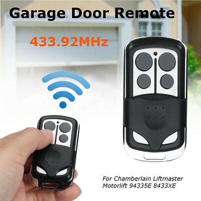 Garage Door Remote For Chamberlain Liftmaster Motorlift 94335E 8433XE 433.92MHz