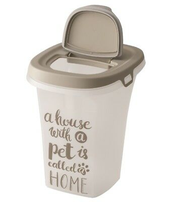 Trendy Pet Large Food Container Dog Cat Animal Storage Bin 6L Dry Feed Seed AF50