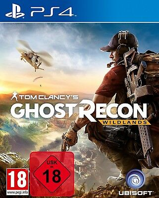 PS4 Game Tom Clancy's Ghost Recon Wildlands NEW