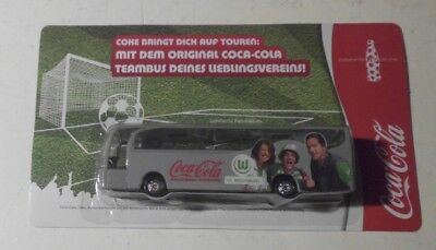 1 coca cola bus rot weiss erfurt fu ball bundesliga truck biertruck minitruck eur 1 99. Black Bedroom Furniture Sets. Home Design Ideas