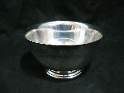 """Webster Wilcox Silverplate Footed Bowl 5"""" IS International Silver Company"""