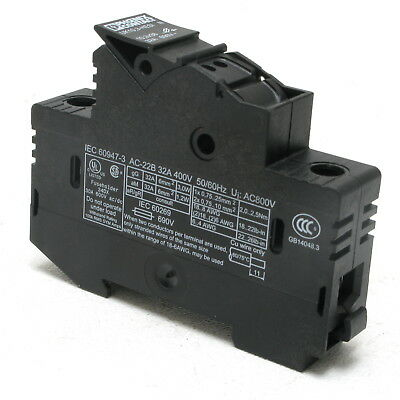 Phoenix Contact UK10,3-HESI N Fuse Holder, 690V 32 Amp, DIN mount