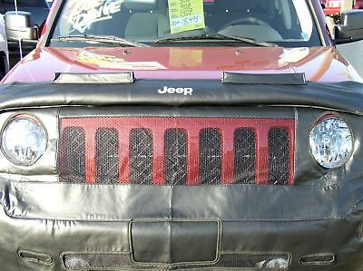 Jeep Patriot Front Hood Bra Black NEW OEM MOPAR