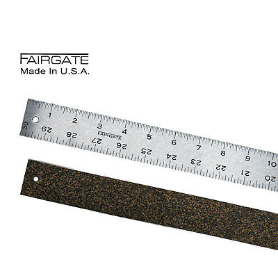 Cork Back Non-Skid Ruler Tandy Leather 3606-00