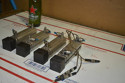 Lot of 4 Festo ADVUL-20-80-P-A Pneumatic Cylinders INV=26364