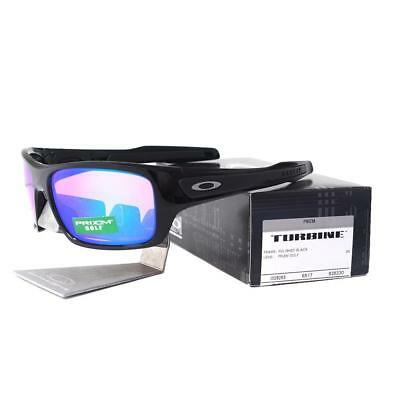 8ce72c7665a Oakley OO 9263-30 TURBINE Polished Black with Prizm Golf Lens Mens  Sunglasses
