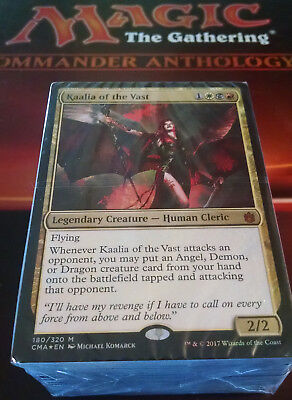 ***Heavenly Inferno*** Sealed Kaalia Commander Anthology Deck Mtg Magic Cards