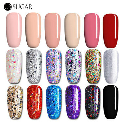 UR SUGAR 7.5ml Gel Nail Polish UV Semi Permanent Varnish Soak off Manicure DIY