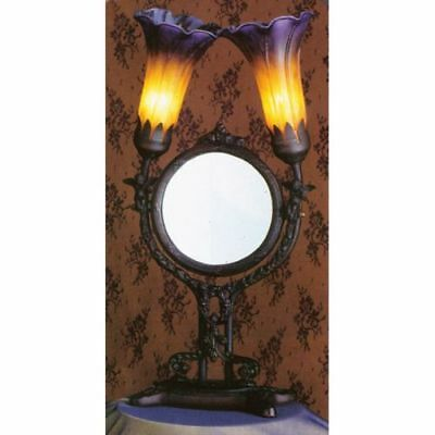 Meyda Tiffany 22108 Transitional Two Light Up Lighting Mirror from the Cherub Co