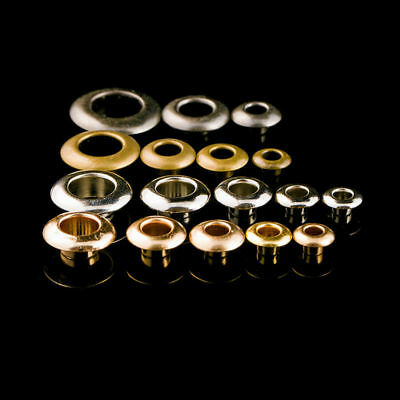 10x Solid Brass Eyelet Leather Crafts Clothing Grommet with Washer 4/5/6/8/12mm
