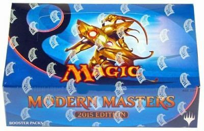 BOX 24 Buste Magic MODERN MASTERS 2015 ENG Nuovo Mtg Magic Sealed Booster MM2