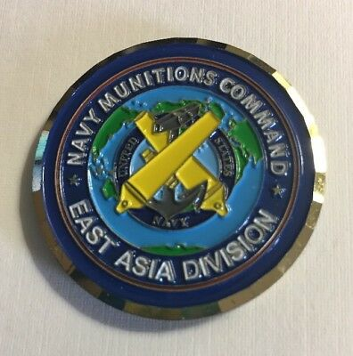 Navy Munitions Command East Asia Division Challenge Coin F12