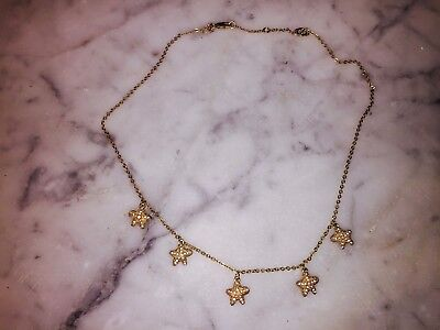 CREWCUTS Girl's Gold Starfish Necklace