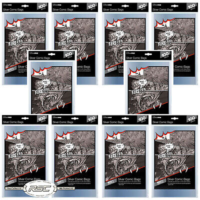 1000 - ULTRA PRO SILVER SIZE 2-Mil Comic Bags 7-1/4 x 10-1/2 - New Packaging!