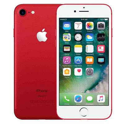 "Apple iPhone 7 128GB ""Factory Unlocked"" (PRODUCT)RED 4G LTE iOS Smartphone"