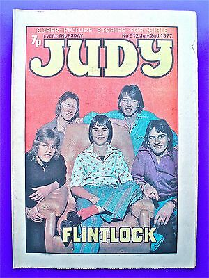 Judy issue No.912, July 2nd 1977. FLINTLOCK, with Mike Holoway (Tomorrow People)