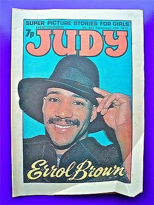 Judy issue No. 922, September 10th 1977. ERROL BROWN of HOT CHOCOLATE