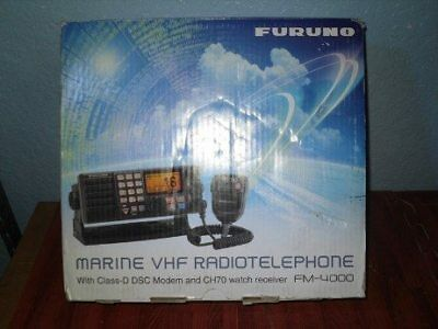 FURUNO FM-4000 Radiotelephone VHF Radio - NEW OLD STOCK IN ORIGINAL BOX