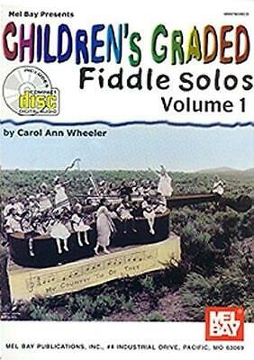 Children's Graded Fiddle Solos Volume 1 Violin Sheet Music, CD Instrumental Albu