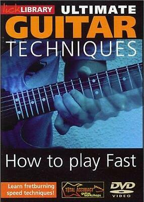 Lick Library: Ultimate Guitar Techniques - How To Play Fast Guitar DVD (Region 0