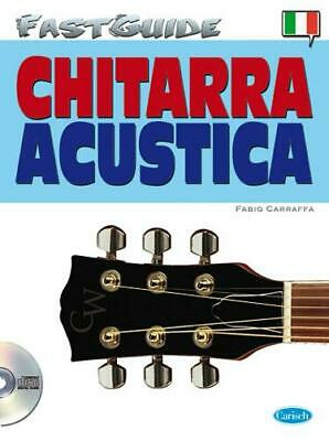 Fast Guide: Chitarra Acustica (Italiano) Guitar Book, CD Instrumental Tutor