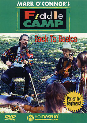 Mark O'Connor's Fiddle Camp: Back To Basics Violin DVD (Region 0) Instrumental T