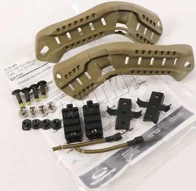 NEW Ops-Core ACH-ARC Rail Kit w/ Bungees TAN OpsCore MICH ACH Large 25-99-401